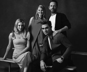 luke perry, riverdale, and lili reinhart image