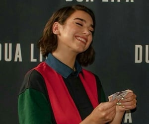 dua lipa and smile image