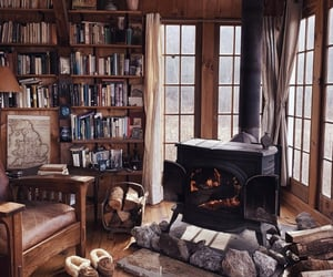 book, cabin, and home image
