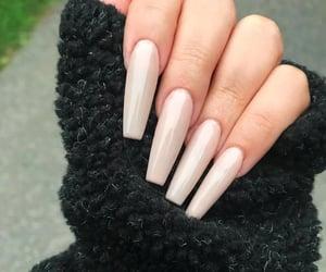 art, fashion, and long nails image