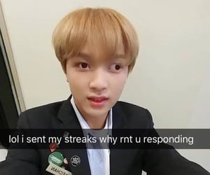 nct, meme, and reaction image