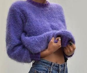 fashion, style, and purple image