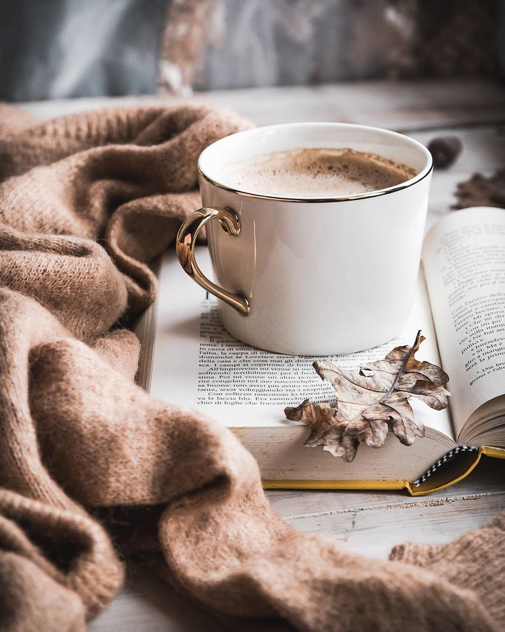 coffee, breakfast, and cozy image