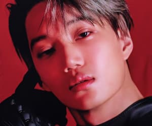 kim jongin, exo, and kai image