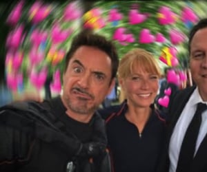happy, pepper potts, and Marvel image
