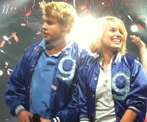 glee, glee cast, and chord overstreet image