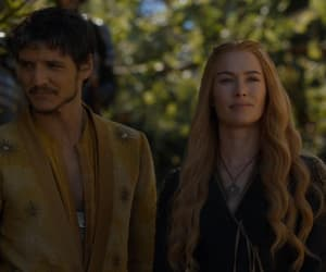 game of thrones, cersei lannister, and oberyn martell image