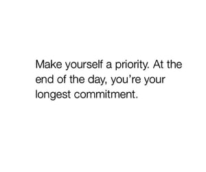 priority, quotes, and commitment image