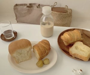 aesthetic, asian, and bread image