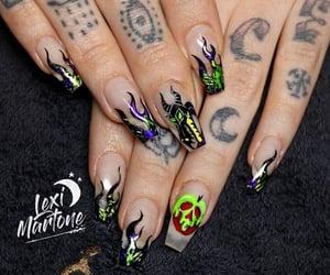 Halloween, nails, and idea image