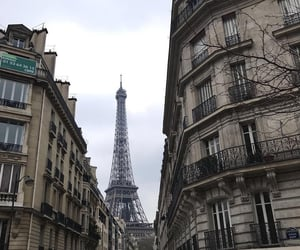 outside, paris, and pretty image