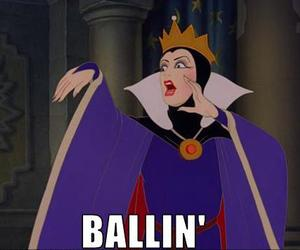 ballin, funny, and snow white image