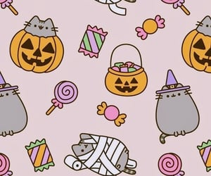 autumn, Halloween, and background image