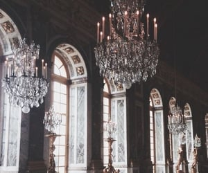 versailles, vintage, and chandelier image