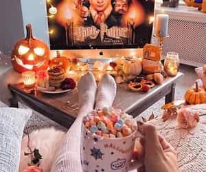 autumn, Halloween, and harry potter image