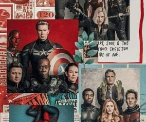 Avengers, Marvel, and comics image