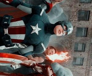 black widow, iron man, and Marvel image