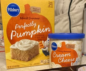 baking, pumpkin, and cupcakes image