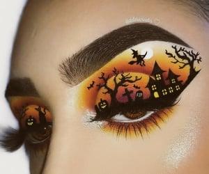 Halloween, makeup, and style image