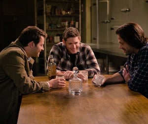 jared padalecki, sam winchester, and dean winchester image