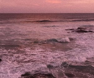 ocean, pink, and rosa image