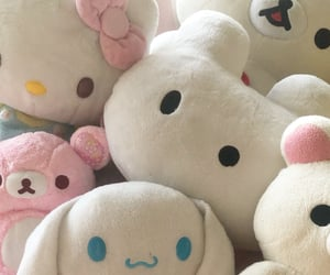 soft, hello kitty, and cute image