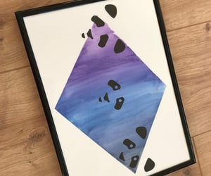 black, gradient, and painting image