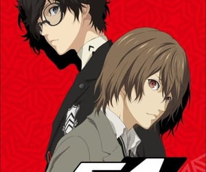 anime, persona 5, and anime boys image