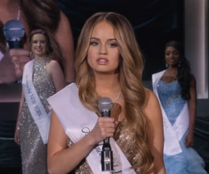beauty, pageant queen, and debby ryan image