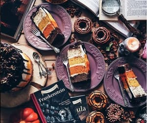 autumn, cake, and fall image