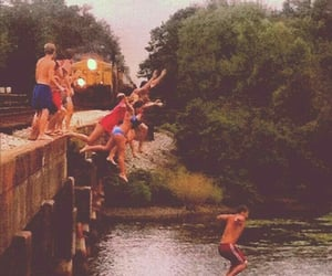 friends, summer, and vintage image