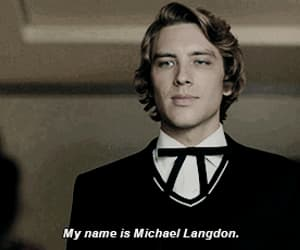 gif, michael langdon, and ahs image