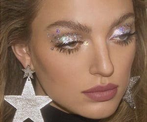 makeup, stars, and aesthetic image