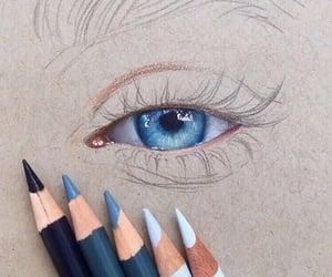 beautiful, eye, and soul image