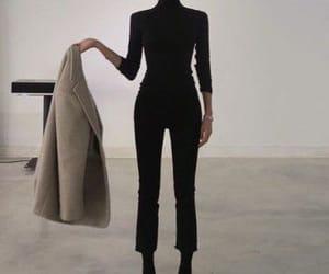 fashion, aesthetic, and black image