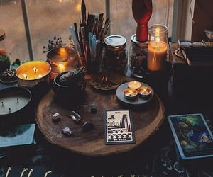 candle, witch, and aesthetic image