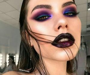 dark make-up image