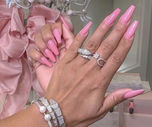 girly, luxury, and hands image