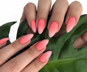 ombre nail art image