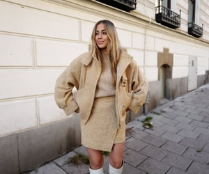 autumn, beige, and blogger image