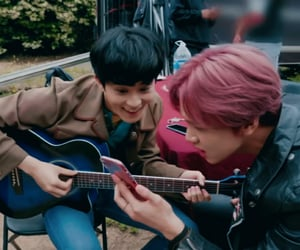 best friends, kpop, and mark lee image