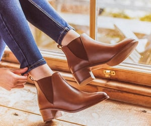 autumn, shoes, and boots image