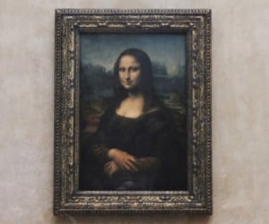 louvre, paris, and art image
