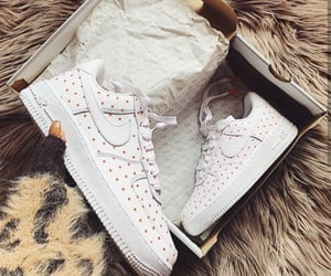 brown, fashion, and nike shoes image