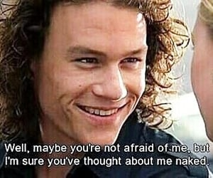10 things i hate about you, kat, and heath ledger image