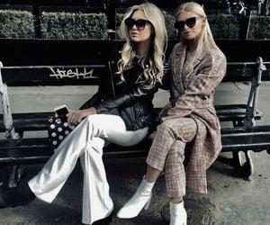 fashion, friendship, and hair image