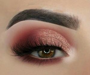 eye, eyeshadow, and eye makeup image