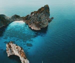 blue, nature, and paradise image