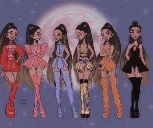 ariana grande, outfits, and sweetener image