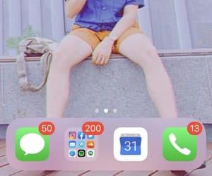 app, namjoon, and phone image